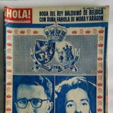 Coleccionismo de Revista Hola: REVISTA HOLA! DICIEMBRE 1960. Lote 159578036