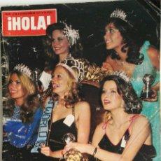 Coleccionismo de Revista Hola: REVISTA HOLA! NOVIEMBRE 1977. Lote 159580758