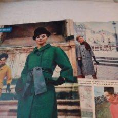 Coleccionismo de Revista Hola: RECORTE DE REVISTA HOLA DE 1963 ARTICULO SOBRE MODAS.. Lote 159611250