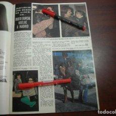Coleccionismo de Revista Hola: ROCIO DURCAL VUELVE A MADRID -ENTREVISTA -RECORTE REVISTA HOLA - NOVIEMBRE 1975 - VER DETALLES. Lote 159849478