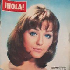 Coleccionismo de Revista Hola: REVISTA HOLA NUM 1109 27 NOV 1965. Lote 159851085