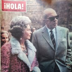 Coleccionismo de Revista Hola: REVISTA HOLA NUM 1007 DIC 1963. Lote 159851922