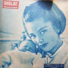 Coleccionismo de Revista Hola: REVISTA HOLA NUM 929 JUN 1962. Lote 159852350