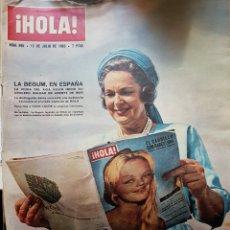 Coleccionismo de Revista Hola: REVISTA HOLA NUM 985 JULIO 1963. Lote 159853038