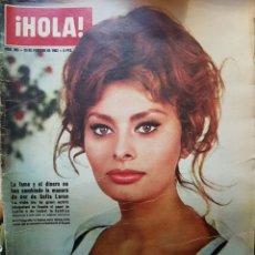Coleccionismo de Revista Hola: REVISTA HOLA NUM 965 FEB 1963. Lote 159853381