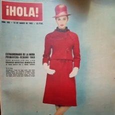 Coleccionismo de Revista Hola: REVISTA HOLA NUM 968 MAR 1963. Lote 159853504