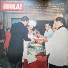 Coleccionismo de Revista Hola: REVISTA HOLA NUM 1087 JUN 1965. Lote 159853598