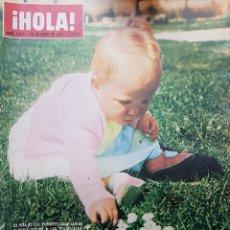 Coleccionismo de Revista Hola: REVISTA HOLA NUM 1076 ABR 1965. Lote 159853661