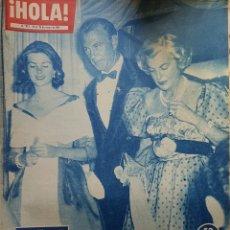 Coleccionismo de Revista Hola: REVISTA HOLA NUM 873 MAYO 1961. Lote 159855096