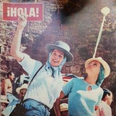 Coleccionismo de Revista Hola: REVISTA HOLA NUM 986 JULIO 1963. Lote 159855473