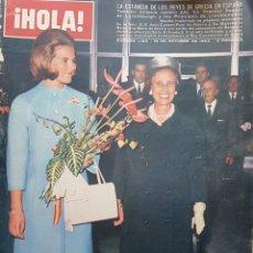 Coleccionismo de Revista Hola: REVISTA HOLA NUM 1103 OCT 1965. Lote 159855733