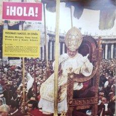Coleccionismo de Revista Hola: REVISTA HOLA NUM 884 JULIO 1963. Lote 159856080