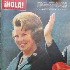 Coleccionismo de Revista Hola: REVISTA HOLA NUM 1088 JULIO 1965. Lote 159857656