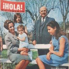 Coleccionismo de Revista Hola: REVISTA HOLA NUM 1077 ABRIL 1965. Lote 159860445