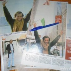 Coleccionismo de Revista Hola: RECORTE : JULIO IGLESIAS SIGUE TRIUNFANDO EN AMERICA. HOLA, ABRIL 1983 (). Lote 159866978