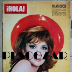 Coleccionismo de Revista Hola: REVISTA HOLA Nº 1148 - 27 AGOSTO 1966 - LOLLOBRIGIDA, SHEILA, ROMINA, SYLVIE VARTAN, RAQUEL WELCH. Lote 159972866