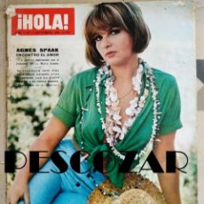 Coleccionismo de Revista Hola: REVISTA HOLA Nº 1149 - 3 SEPTIEMBRE 1966 - AGNES SPAAK, AUDREY HEPBURN, RUPTURA KENNEDY JOHNSON. Lote 159973250