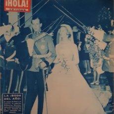 Coleccionismo de Revista Hola: REVISTA HOLA NUM 877 JUN 1961. Lote 160014329