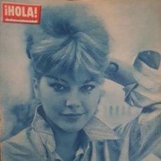 Coleccionismo de Revista Hola: REVISTA HOLA NUM 896 NOV 1961. Lote 160015306