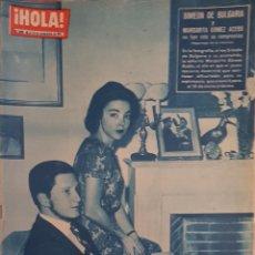 Coleccionismo de Revista Hola: REVISTA HOLA NUM 899 NOV 1961. Lote 160020625
