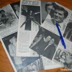 Coleccionismo de Revista Hola: RECORTE : LOS 50 AÑOS DE ALAIN DELON . HOLA, NVBRE 1985 (). Lote 160026802