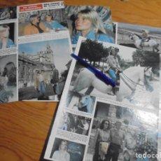 Coleccionismo de Revista Hola: RECORTE : BO DEREK, EN ANDALUCIA. HOLA, NVBRE 1982 (). Lote 160241714