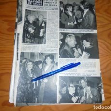 Coleccionismo de Revista Hola: RECORTE : ALASKA, EN LA PRESENTACION DE LA REVISTA EL PASEANTE. HOLA, DCBRE 1985 (). Lote 160340226