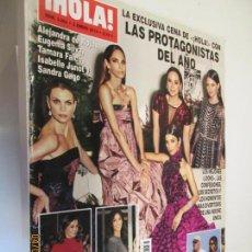 Coleccionismo de Revista Hola: HOLA REVISTA 3883 , ENERO 2019 LAS PROTAGONISTAS DEL AÑO . Lote 160412974