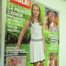 Coleccionismo de Revista Hola: HOLA REVISTA 3759 AGOSTO 2016 LA PRINCESA LEONOR . Lote 160413334