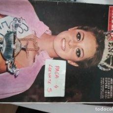 Coleccionismo de Revista Hola: REVISTA HOLA 1471 * 4 NOVIEMBRE 1972 * ROCIO MARTIN MADRIGAL MISS ESPAÑA 1972 + GINA LOLLOBRIGIDA*61. Lote 160489258