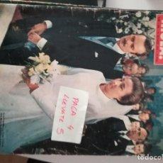 Coleccionismo de Revista Hola: REVISTA HOLA 1469 * 21 OCTUBRE 1972 * BODA INFANTA MARGARITA Y CARLOS ZURITA + ONASSIS * 61. Lote 160489494
