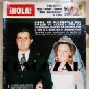 Coleccionismo de Revista Hola: REVISTA HOLA Nº 1716 - 16 JULIO 1977 - PILAR MEDINA, BODA DUQUE ALIAGA MARIA HOHENLOHE, LINDA CARTER. Lote 160600766