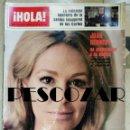 Coleccionismo de Revista Hola: REVISTA HOLA Nº 1719 - 6 AGOSTO 1977 - JOAN KENNEDY, AYMONE, MARISOL, DIDI SHERMAN, DEMIS ROUSSOS. Lote 160600890