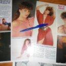 Coleccionismo de Revista Hola: RECORTE : KELLY LE BROCK, LA MUJER DE ROJO. HOLA, MAYO 1985 (). Lote 160602754