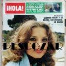 Coleccionismo de Revista Hola: REVISTA HOLA Nº 1709 - 28 MAYO 1977 - BARBARA BOUCHET, MIGUEL GALLARDO, SANCHO GRACIA, JACKIE BISSET. Lote 160604074