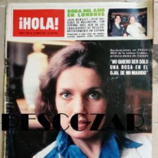 Collectionnisme de Magazine Hola: REVISTA HOLA Nº 1708 - 21 MAYO 1977 - TRUDEAU, BODA JOHN WENSLLY VAES, GRAN PREMIO ESPAÑA FORMULA 1. Lote 160604630