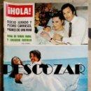 Coleccionismo de Revista Hola: REVISTA HOLA Nº 1707 - 14 MAYO 1977 - BODA TERESA RABAL EDUARDO RODRIGO, ROCIO JURADO PEDRO CARRASCO. Lote 160606142