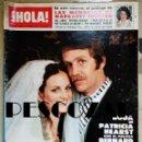 Coleccionismo de Revista Hola: REVISTA HOLA Nº 1805 - 14 ABRIL 1979 - BODA PATRICIA HEARST Y SHAW, MARGARET TRUDEAU, EUROVISIÓN. Lote 160630206