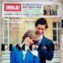 Coleccionismo de Revista Hola: REVISTA HOLA Nº 1907 - 14 MARZO 1981 - CARLOS INGLATERRA LADY DI DIANA, JUAN CARLOS I, MERRY BORDIÚ. Lote 160631302