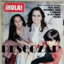 Coleccionismo de Revista Hola: REVISTA HOLA Nº 1801 - 3 MARZO 1979 - ROCIO DURCAL, SANDOKÁN, KABIR BEDI, MIA FARROW, STREISAND, SHA. Lote 160631714