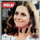 Coleccionismo de Revista Hola: REVISTA HOLA Nº 1802 - 10 MARZO 1979 - REINA NOOR, JUNOT Y CAROLINA, PICASSO, TRUDEAU, CAMILO SESTO. Lote 160632018