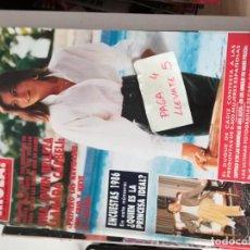 Coleccionismo de Revista Hola: REVISTA HOLA 2209 * 18 DICIEMBRE 1986 * CHABELI + CARY GRANT + JULIO IGLESIAS * 62. Lote 160689866
