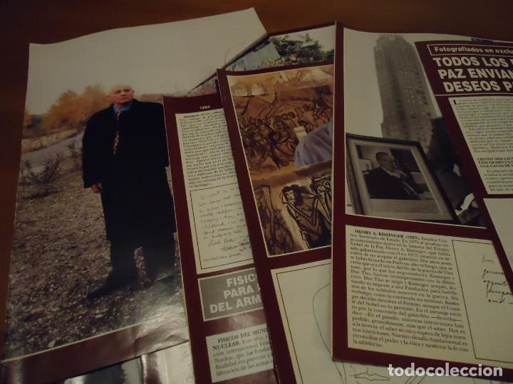 Coleccionismo de Revista Hola: Recorte reportaje revista hola año 2000 Todos los premios Nobel de la Paz - Foto 4 - 160721950