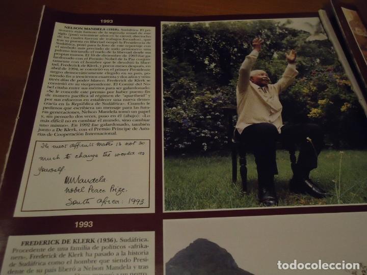 Coleccionismo de Revista Hola: Recorte reportaje revista hola año 2000 Todos los premios Nobel de la Paz - Foto 5 - 160721950