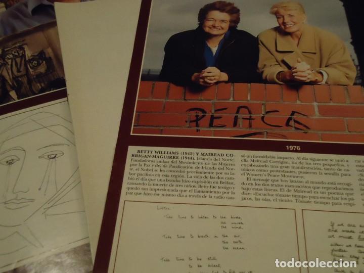 Coleccionismo de Revista Hola: Recorte reportaje revista hola año 2000 Todos los premios Nobel de la Paz - Foto 7 - 160721950