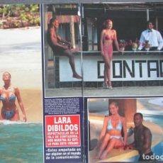 Coleccionismo de Revista Hola: RECORTE REVISTA HOLA Nº 2702 1996 LARA DIBILDOS 9 PGS. Lote 161118470
