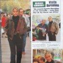 Coleccionismo de Revista Hola: RECORTE REVISTA HOLA Nº 2051 1983 MARGAUX HEMINGWAY 2 PGS. Lote 161120866