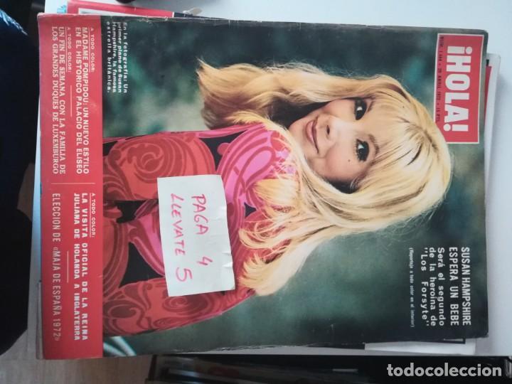 REVISTA HOLA 1444 * 29 ABRIL 1972 * SUSAN HAMPSHIRE + MAJA DE ESPAÑA 1972 + LUIS MIGUEL * 63 (Coleccionismo - Revistas y Periódicos Modernos (a partir de 1.940) - Revista Hola)