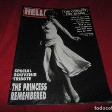 Collectionnisme de Magazine Hola: REVISTA HELLO, ESPECIAL DIANA DE GALES, JULIO 2007. Lote 161595978