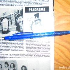 Colecionismo da Revista Hola: RECORTE : NUEVA MASCOTA PARA UN, DOS, TRES... EL CHOLLO. HOLA, NVBRE 1984 (). Lote 162481898